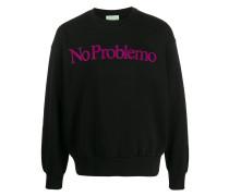 No Problemo print sweatshirt