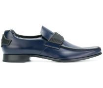 Oxford-Schuhe mit spitzer Kappe