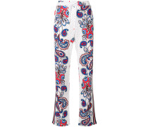 P.A.R.O.S.H. paisley dotted track pants