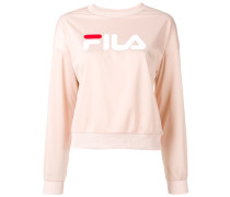 snap logo sweatshirt