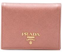 small Saffiano billfold wallet