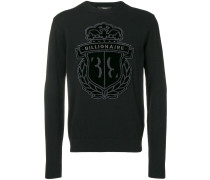 Pullover mit Logo-Patch