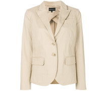 classic notch collar blazer
