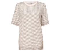 T-Shirt mit Krawattenmuster