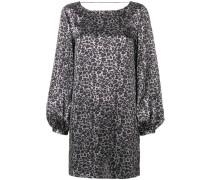 'Zipporah' Kleid mit Leoparden-Print