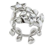 crystal-embellished wrap ring