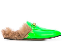 'Princetown' Loafer mit Pelzfutter