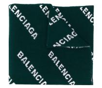 Gestrickter Schal mit Logos