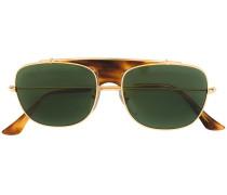 Sonnenbrille mit Pilotengestell