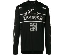 Tour zipped sweatshirt