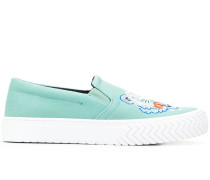 Slip-On-Sneakers mit Tiger