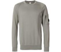 sleeve pocket detail sweatshirt
