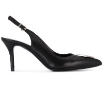 'Decollete Maculate' Slingback-Pumps
