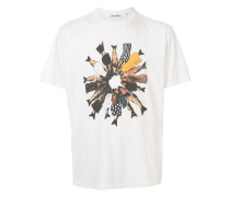 """T-Shirt mit """"Fishes in Suit""""-Print"""