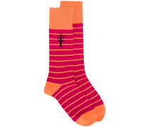 Gestreifte 'EMP' Socken