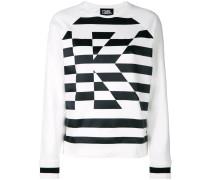Gestreiftes 'K' Sweatshirt