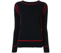 'Nala' Pullover mit Kontrastborte