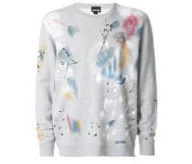 paint print sweatshirt