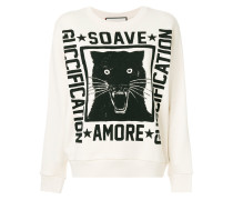 Soave Amore Guccification print sweatshirt