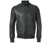 high-neck bomber jacket