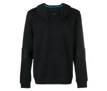 Sweatshirt mit Applikationen