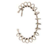 hoop embellished bracelet