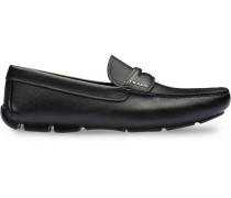 Penny-Loafer aus Saffiano-Leder