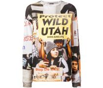 'Protect Utah' Sweatshirt mit Print