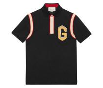 "Poloshirt mit ""G""-Patch"""