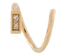 18kt 'Ari' Gelbgoldohrringe mit Diamanten