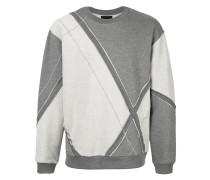 Sweatshirt mit Rautenmuster