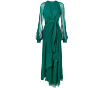 Langes 'Coco' Chiffonkleid
