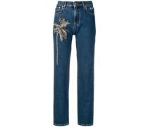 Jeans mit Palme