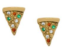 Ohrstecker mit Pizza-Motiv