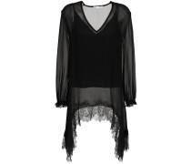 lace silk blouse