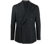 double-breasted pin detail blazer