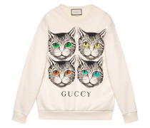 Mystic Cat print sweatshirt