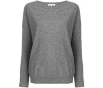 wide round neck sweater