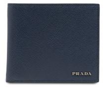contrast bi-fold wallet