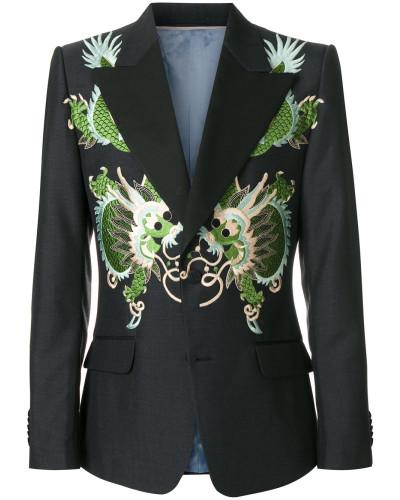 'Heritage' Jacke mit Drachen