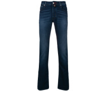 Jeans mit Bootcut-Schnitt