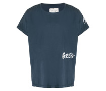"T-Shirt mit ""Greg""-Print"