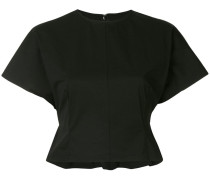 short-sleeve cropped top