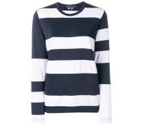 striped style sweatshirt