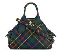 Handtasche mit Karomuster