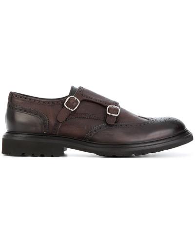 Dell'oglio Herren Monk-Schuhe aus Leder Große Überraschung Auslass Manchester Günstige Verkaufspreise Sehr Billig Zu Verkaufen D17nsQ
