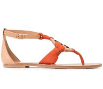 'Miller' Sandalen mit Schaldetail