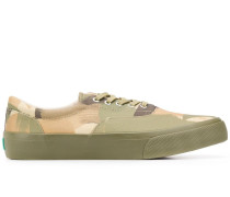 camouflage-print canvas sneakers