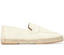 Espadrille-Loafer mit flachem Absatz
