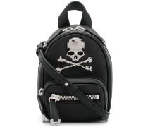 skull embellished mini backpack